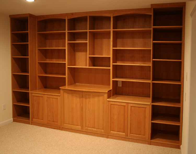Custom Library, wall unit, bookcases